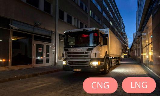 Scania Eurocargo CNG L, P, G, R un S sērijas.