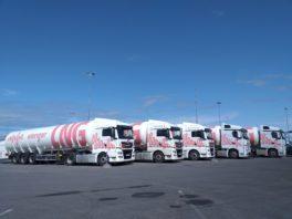 LNG semi-trailers of Elenger