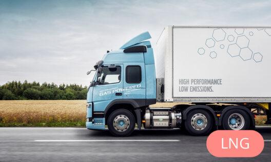 Volvo LNG testa kravas automašīn