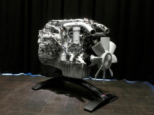 Scania 9l Euro gāzes dzinējs